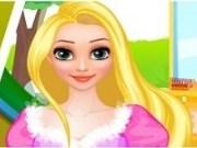 Coafuri de mireasa pentru Rapunzel