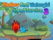 Baiatul foc si fata apa: Supravietuire pe insula 3