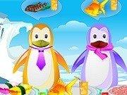 Serveste mancaruri cu peste pinguinilor