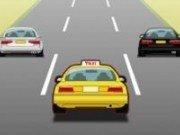 Masini de Taxi in curse