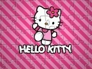 Jigsaw cu Hello Kitty