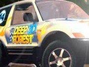 Curse masini 3D Jeep in padure