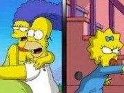 Gaseste asemanari familia Simpsons