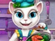 Talking Angela bucatareasa