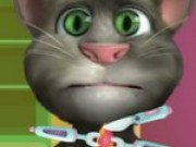 Joc cu Talking Tom la spital Infectie in gat