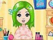 Barbie la salonul de coafura