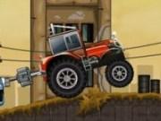 Tractor cu buldozere