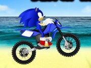 Sonic Cursa Moto pe plaja