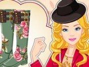 Barbie design cizme de toamna