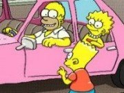Parcheaza masina lui Simpson