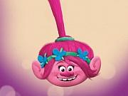 Poppy din Trolli mania la coafor