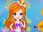 Sirena in rochie de mireasa
