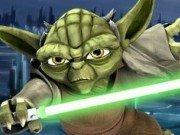 Lupta Yoda cu Sabia Laser