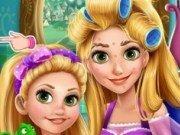 Machiaj nou pentru mama Rapunzel si fiica ei