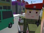 Politist in lumea Minecraft