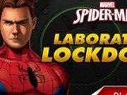 Spiderman in laboratorul Lockdown