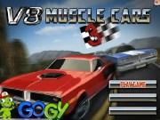 Curse cu masini V8 Muscle