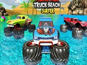 Monster Truck Cascadorii pe apa