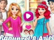 Rapunzel si Ariel Intalnire romantica cu printii
