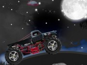 Condu masini Monster Truck noaptea