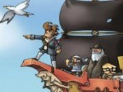 Lupte pe mare cu pirati
