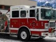 Masina Pompierilor Misiune in iarna