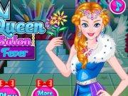 Ice Queen la Salonul de coafura
