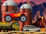 Monster Truck Camionul cu flacără
