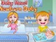 Bebelusa Hazel si fratiorul ei nou nascut