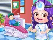 Baby Hazel Rol de Dentist