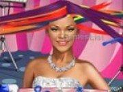 Joc de tuns parul lui Rihanna