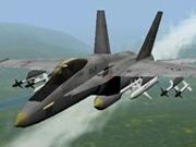 Simulator de avioane de luptă 3D