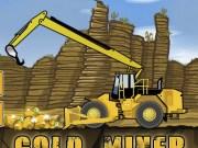 Excavatorul care sapa dupa aur