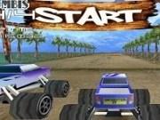 Curse 3D cu masini Monster Truck