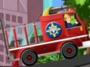 Pompierul Sam stinge incendiile