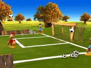 Fotbal cu puii Moorhuhn