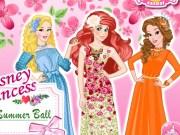 Ariel, Cenusareasa și Belle la bal