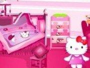 Decoreaza dormitorul lui Hello Kitty