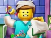 Omuletii Lego Ninjago la spital