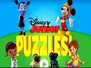 Puzzle cu personajele Disney Junior