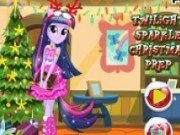 Poneiul Twilight Sparkle de Craciun