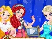 Rapunzel, Elsa si Ariel la cinema