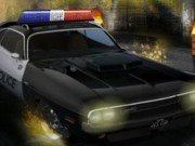 Condu masina politiei si prinde infractori