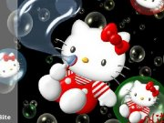 Puzzle Baloane cu Hello Kitty