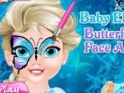 Baby Elsa Picturi pe fata