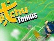 Ninja Aitchu joaca tenis