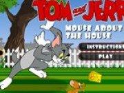 Tom si Jerry la intrarea in casa