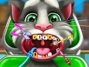 Talking Tom la dentist