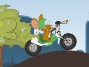 Tom si Jerry cu motorul
