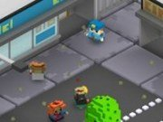 Rot ofiter de politie in lumea Minecraft